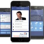 Michael Schreiber Versicherungsmakler mit eigener App