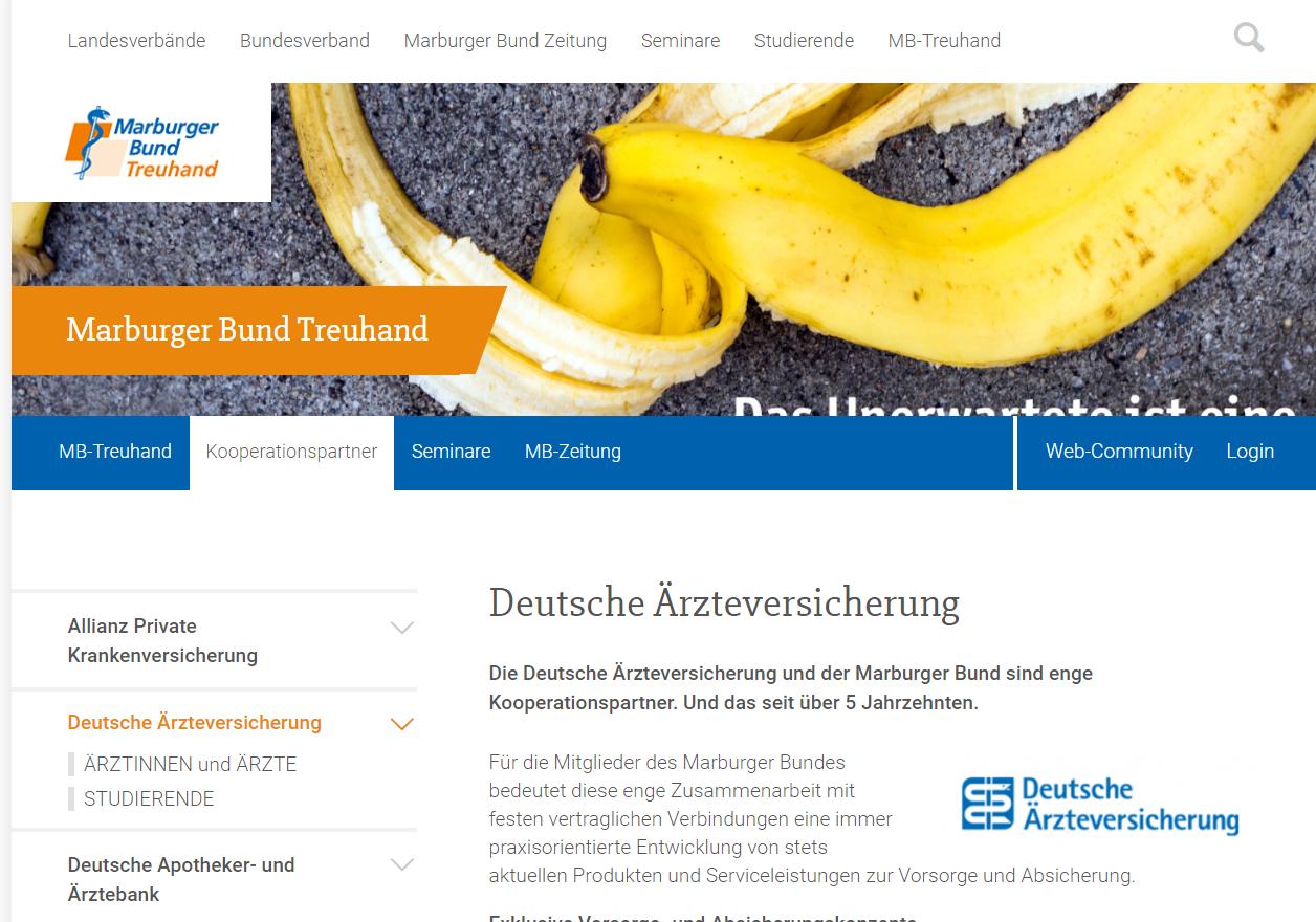 Deutsche Ärzteversicherung und Marburger Bund