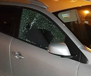 Diebstahl von Gegenständen aus Auto