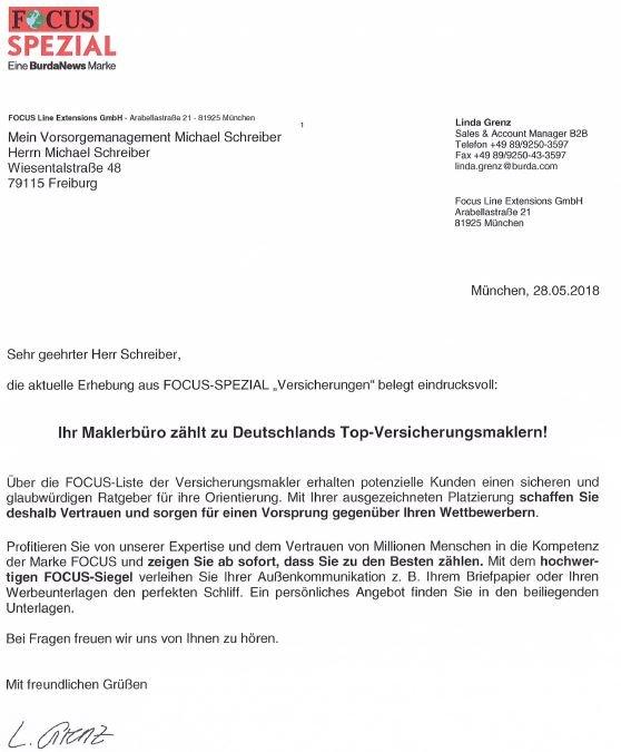 guter Versicherungsmakler in Freiburg